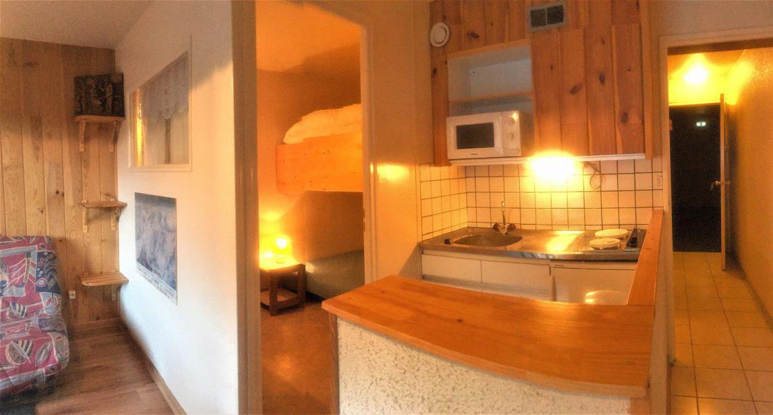 Vakantie in de bergen Studio cabine 5 personen (511) - La Résidence Vostok Zodiaque - Le Corbier - Keukenblok