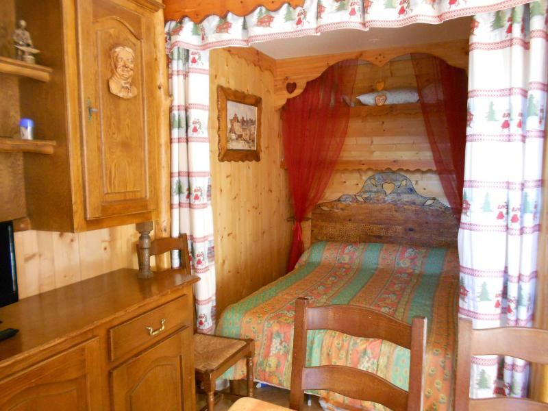 Holiday in mountain resort Studio sleeping corner 4 people (1107) - La Résidence Vostok Zodiaque - Le Corbier - Alcove
