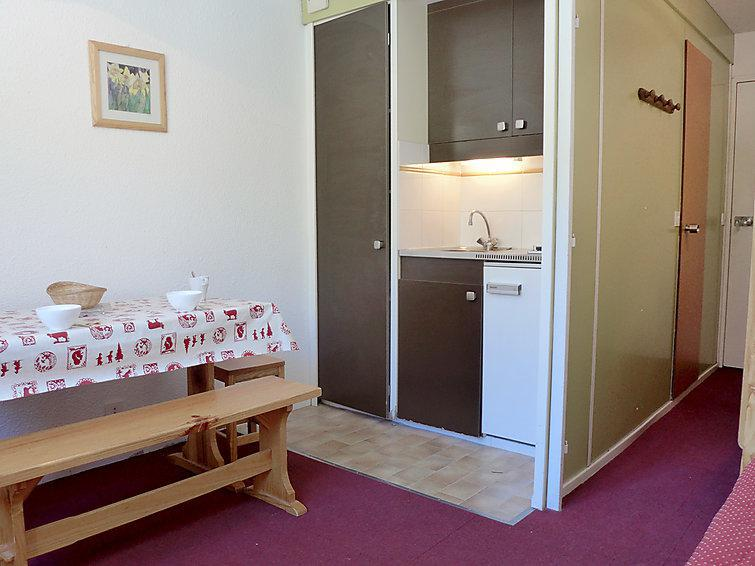 Holiday in mountain resort 1 room apartment 2 people (10) - La Roche Blanche - Val Thorens - Accommodation