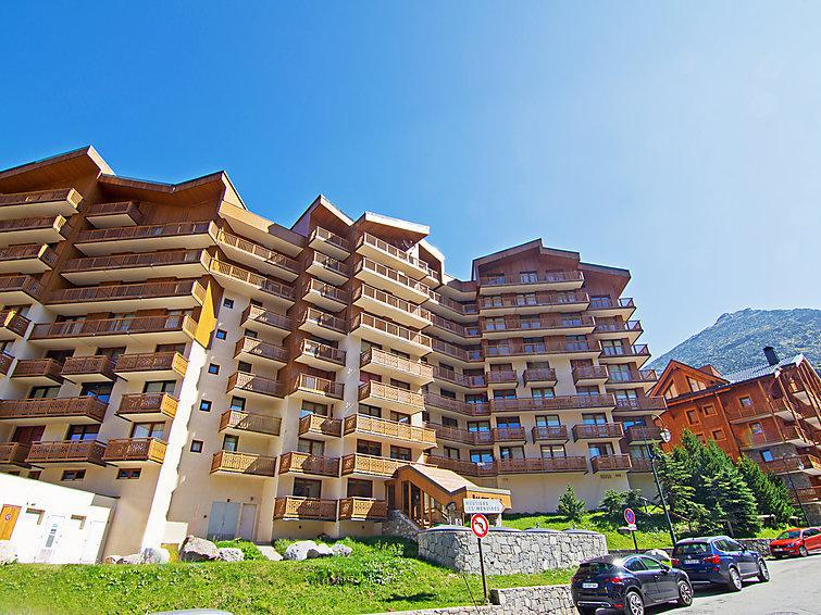 Holiday in mountain resort La Roche Blanche - Val Thorens - Summer outside