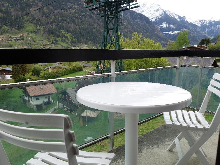Holiday in mountain resort 1 room apartment 4 people (2) - La Royale - Saint Gervais - Accommodation