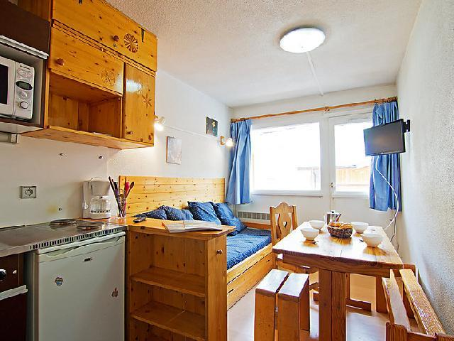 Holiday in mountain resort 1 room apartment 3 people (9) - La Vanoise - Val Thorens - Accommodation