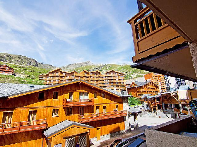 Holiday in mountain resort 1 room apartment 2 people (12) - La Vanoise - Val Thorens - Summer outside