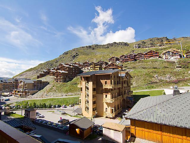 Holiday in mountain resort 2 room apartment 4 people (19) - La Vanoise - Val Thorens - Summer outside