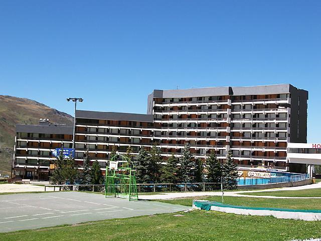 Vakantie in de bergen Appartement 1 kamers 4 personen (10) - Lac du Lou - Chavière - Péclet - Les Menuires - Buiten zomer