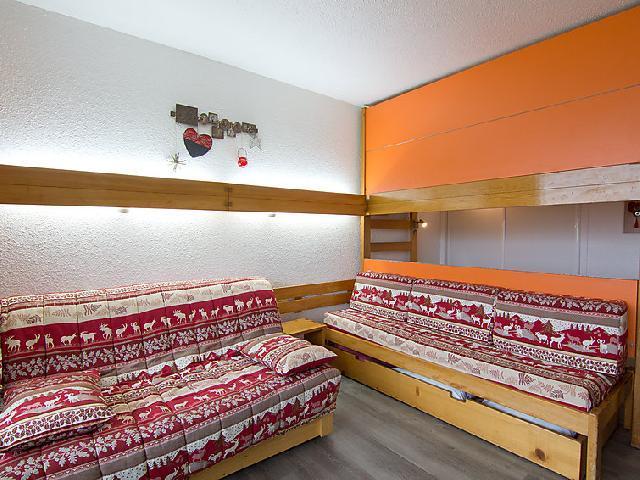 Vakantie in de bergen Appartement 1 kamers 4 personen (8) - Lac du Lou - Chavière - Péclet - Les Menuires - Verblijf