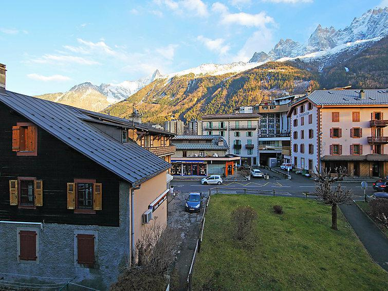 Holiday in mountain resort 1 room apartment 4 people (2) - Lachenal - Chamonix - Accommodation