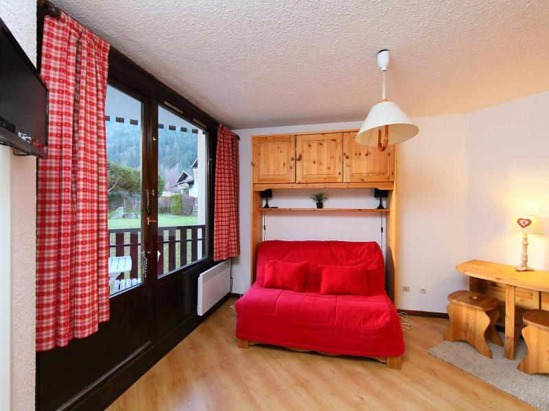 Holiday in mountain resort 1 room apartment 2 people (1) - Lachenal - Chamonix - Summer outside