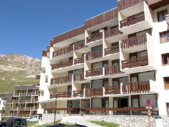 Holiday in mountain resort Studio 3 people (1) - Le 2100 A et B - Tignes - Summer outside