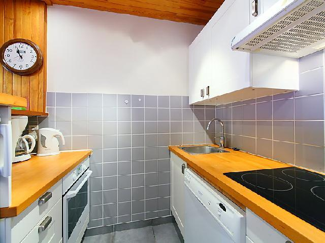 Holiday in mountain resort 3 room apartment 6 people (9) - Le 2100 A et B - Tignes - Kitchenette