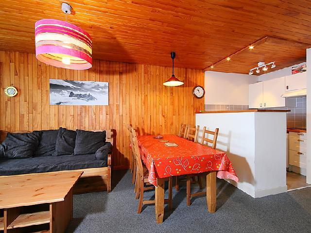 Vakantie in de bergen Appartement 3 kamers 6 personen (9) - Le 2100 A et B - Tignes - Woonkamer