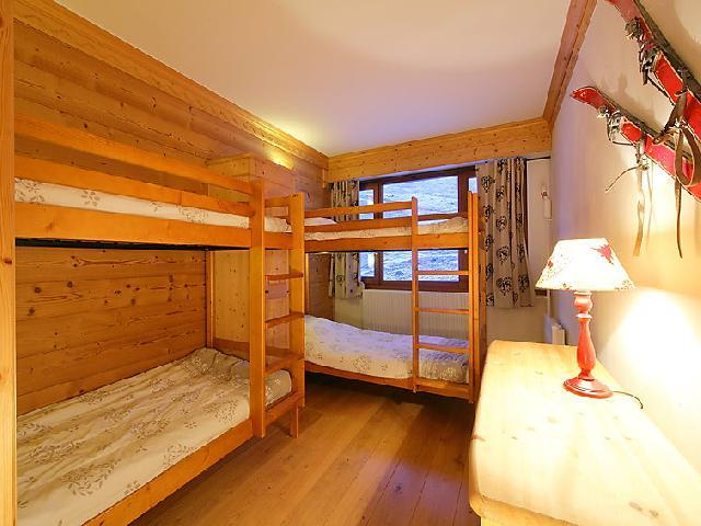 Holiday in mountain resort 3 room apartment 8 people (2) - Le Bec Rouge - Tignes - Bunk beds