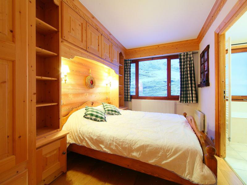Holiday in mountain resort 3 room apartment 8 people (2) - Le Bec Rouge - Tignes - Double bed