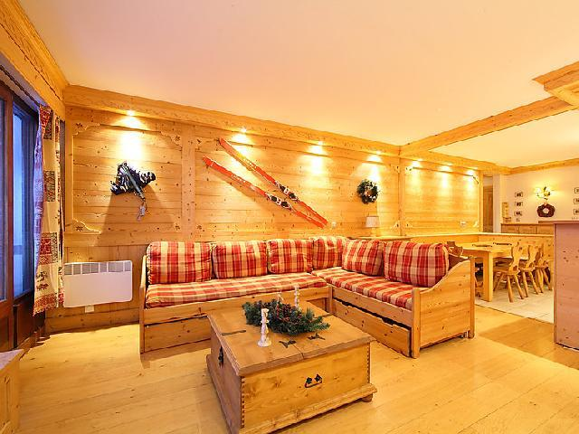 Holiday in mountain resort 3 room apartment 8 people (2) - Le Bec Rouge - Tignes - Settee