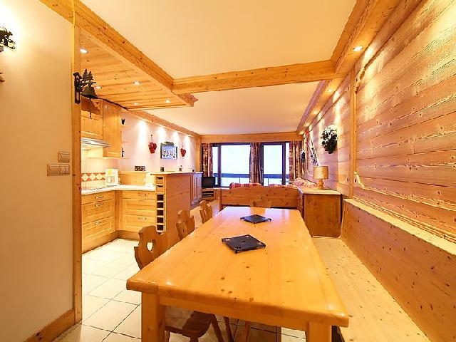 Holiday in mountain resort 3 room apartment 8 people (2) - Le Bec Rouge - Tignes - Table