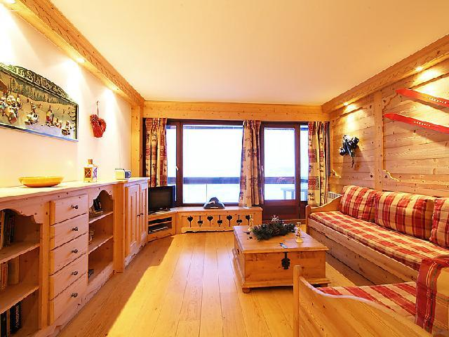 Vakantie in de bergen Appartement 3 kamers 8 personen (2) - Le Bec Rouge - Tignes - Raam