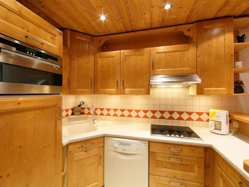 Vakantie in de bergen Appartement 3 kamers 8 personen (2) - Le Bec Rouge - Tignes - Vaatwasser