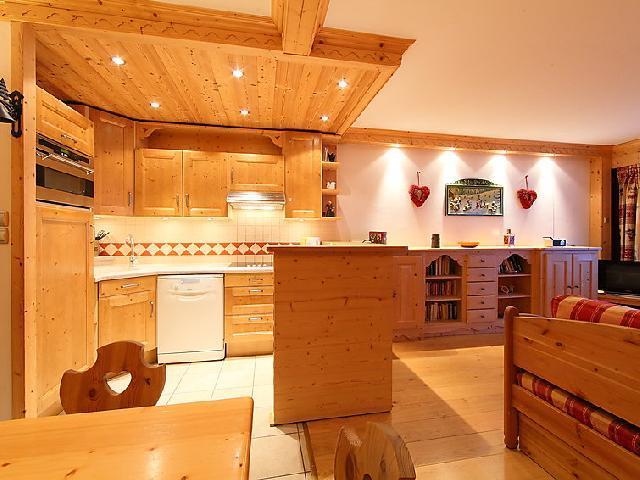 Vakantie in de bergen Appartement 3 kamers 8 personen (2) - Le Bec Rouge - Tignes - Woonkamer