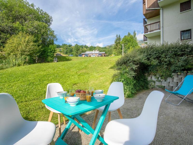 Аренда на лыжном курорте Апартаменты 2 комнат 4 чел. (8) - Le Bochate - Les Bottières - летом под открытым небом