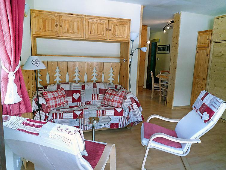 Holiday in mountain resort 2 room apartment 4 people (2) - Le Bois du Bouchet - Chamonix - Accommodation