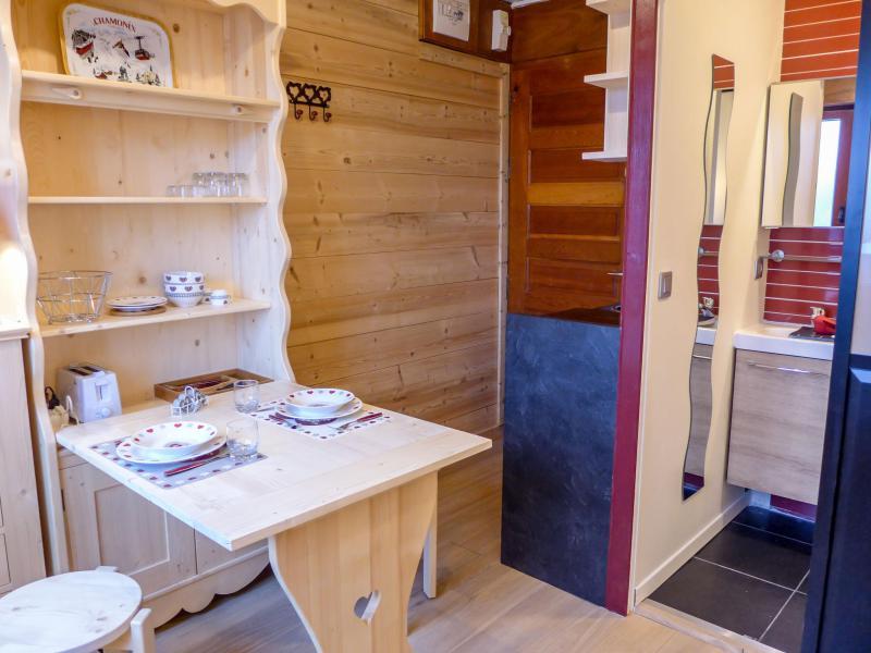 Vakantie in de bergen Appartement 1 kamers 2 personen (6) - Le Bois du Bouchet - Chamonix