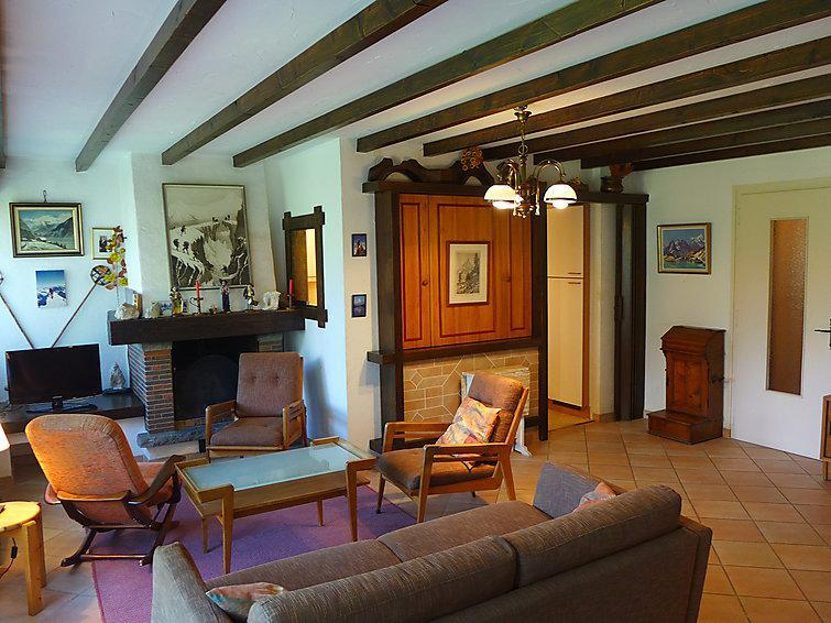 Holiday in mountain resort 3 room apartment 4 people (1) - Le Bois du Bouchet - Chamonix - Summer outside