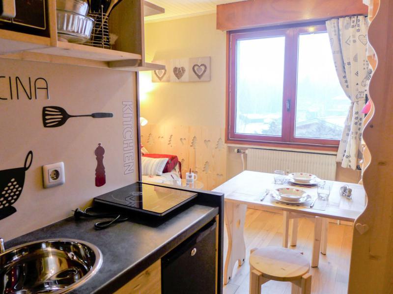 Vakantie in de bergen Appartement 1 kamers 2 personen (6) - Le Bois du Bouchet - Chamonix - Verblijf