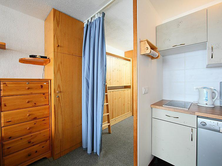 Holiday in mountain resort Studio sleeping corner 4 people (3) - Le Bollin - Tignes - Accommodation