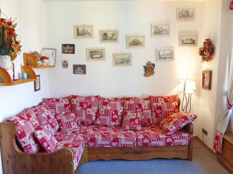 Vakantie in de bergen Appartement 2 kamers 4 personen (7) - Le Carlton - Chamonix - Woonkamer