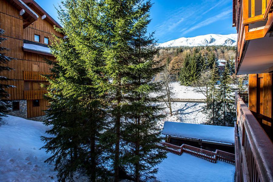 Vakantie in de bergen Appartement 1 kamers 4 personen (CHARDON) - Le Chalet Chardon Bleu - Méribel-Mottaret