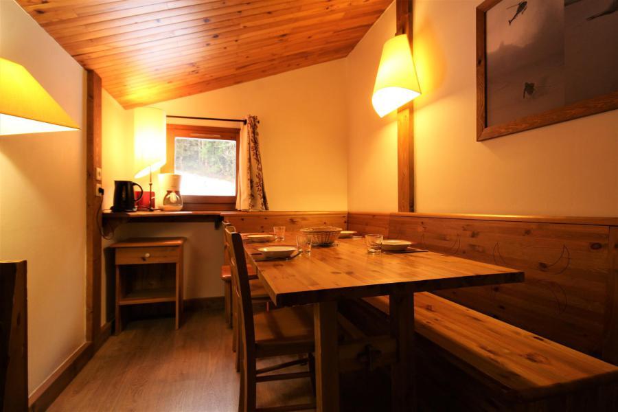 Wakacje w górach Apartament 3 pokojowy 6 osób (401) - Le Chalet de Montchavin - Montchavin La Plagne - Jadalnia