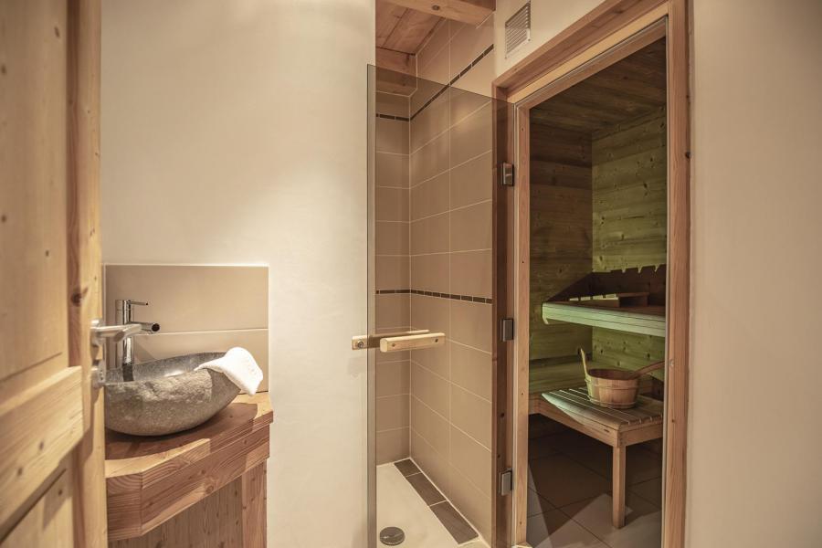 Urlaub in den Bergen Le Chalet Lili - Les Menuires - Sauna