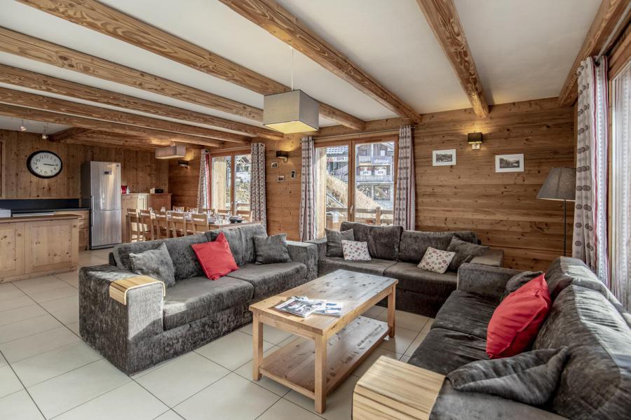 Urlaub in den Bergen Le Chalet Lili - Les Menuires - Wohnzimmer