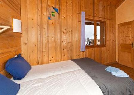 Urlaub in den Bergen 6 Zimmer Maisonettewohnung für 10 Personen - Le Chalet Mimosa - Saint Martin de Belleville - Doppelbett