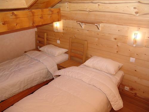 Urlaub in den Bergen 6 Zimmer Maisonettewohnung für 10 Personen - Le Chalet Mimosa - Saint Martin de Belleville - Einzelbett