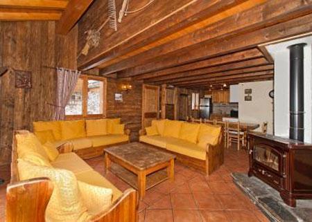 Urlaub in den Bergen 6 Zimmer Maisonettewohnung für 10 Personen - Le Chalet Mimosa - Saint Martin de Belleville - Sofa