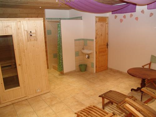 Urlaub in den Bergen Le Chalet Mimosa - Saint Martin de Belleville - Sauna