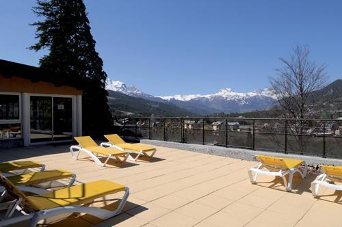 Rent in ski resort Le Château des Magnans - Pra Loup - Summer outside