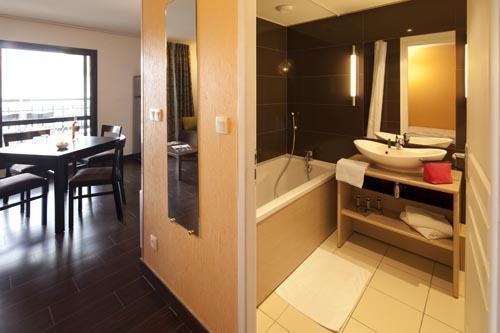 Vacances en montagne Studio 2-4 personnes (Residence) - Le Château des Magnans - Pra Loup - Salle de bains