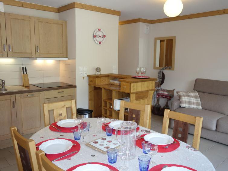 Holiday in mountain resort 3 room apartment 6 people (1) - Le Clos de la Fontaine - Saint Gervais - Accommodation
