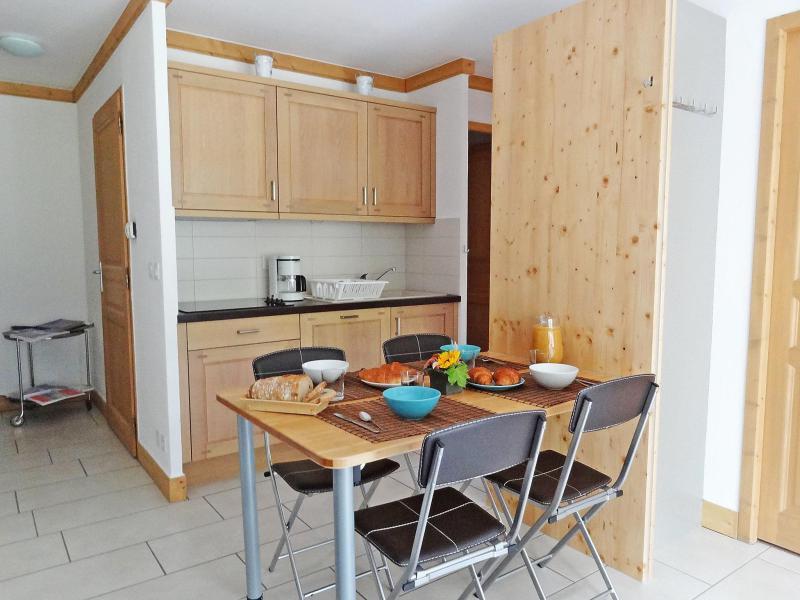 Vakantie in de bergen Appartement 3 kamers 6 personen (2) - Le Clos de la Fontaine - Saint Gervais - Verblijf