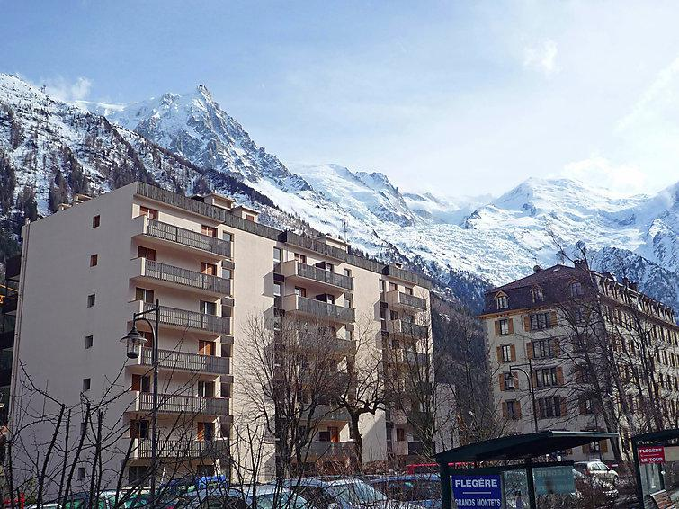 Holiday in mountain resort 1 room apartment 2 people (2) - Le Concordia - Chamonix - Summer outside