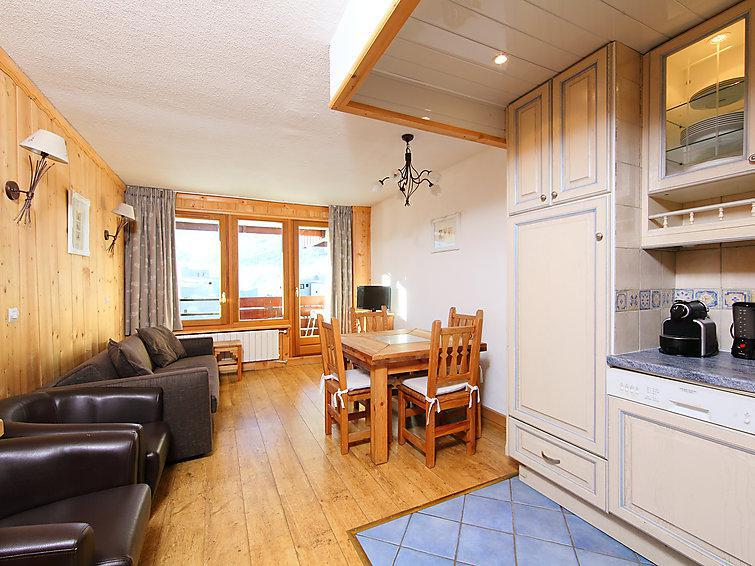 Holiday in mountain resort 2 room apartment 6 people (13) - Le Curling A - Tignes - Accommodation