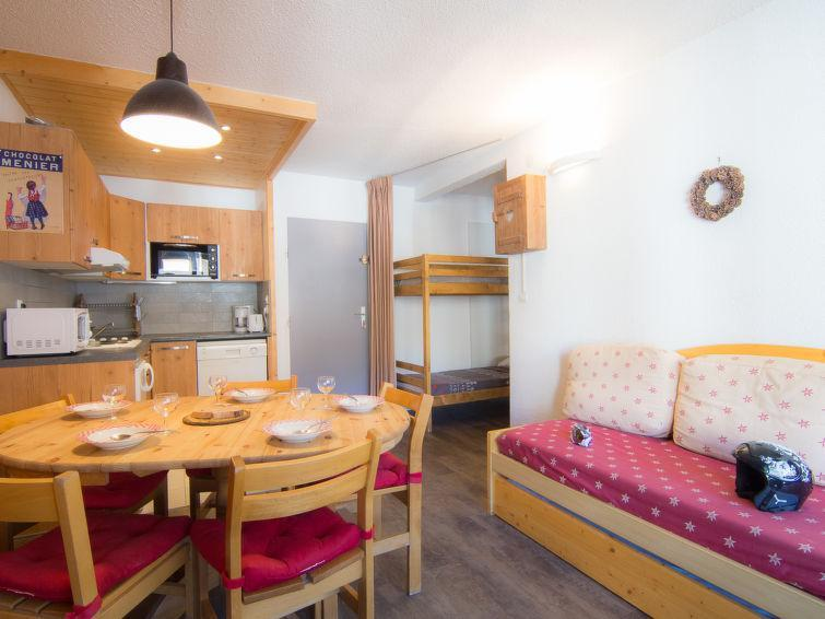 Holiday in mountain resort 2 room apartment 6 people (8) - Le Curling A - Tignes - Summer outside