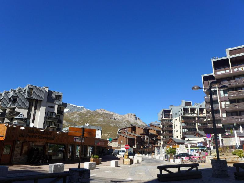 Holiday in mountain resort Le Curling B - Tignes - Summer outside
