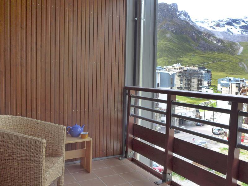 Vakantie in de bergen Appartement 2 kamers 6 personen (37) - Le Curling B - Tignes - Balkon