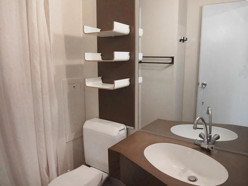 Holiday in mountain resort 1 room apartment 3 people (3) - Le Génépi - Les Menuires - Accommodation