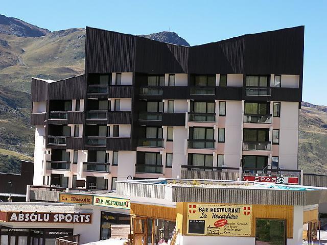Vakantie in de bergen Appartement 1 kamers 3 personen (1) - Le Génépi - Les Menuires - Buiten zomer