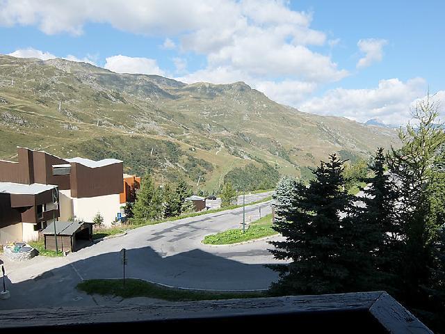 Vakantie in de bergen Appartement 1 kamers 3 personen (3) - Le Génépi - Les Menuires - Buiten zomer