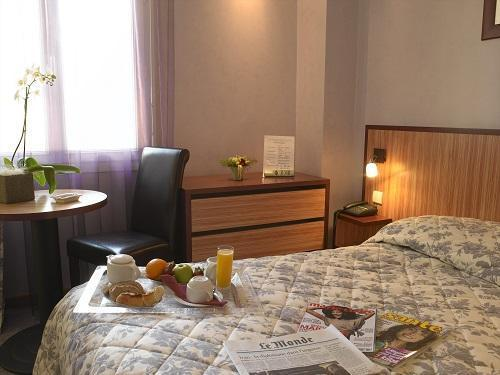 Holiday in mountain resort Classic Room (2 people) - Le Golf Hôtel - Brides Les Bains - Bedroom